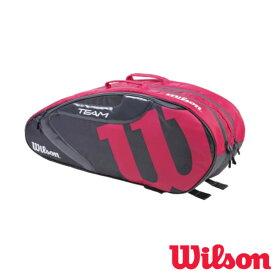 《クーポン対象》《送料無料》2020年2月発売 WILSON TEAMJ1.0 6PK GREY/PINK グレー・ピンク WR8008604001 ウィルソン バッグ