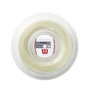 《送料無料》NXT POWER 16 Reel WRZ9127600 ウィルソン 硬式テニス ストリング ロールガット