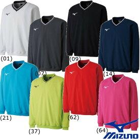《10%OFFクーポン対象》《送料無料》2018年2月発売 MIZUNO ユニセックス スウェットシャツ(中厚素材) 62JC8001 ミズノ テニス バトミントン ウェア