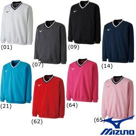 《送料無料》2018年2月発売 MIZUNO ユニセックス スウェットシャツ(肉厚素材) 62JC8002 ミズノ テニス バトミントン ウェア