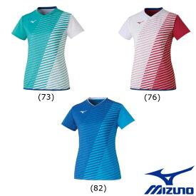 《送料無料》2020年2月発売 MIZUNO ウィメンズ ゲームシャツ 72MA0221 ミズノ テニス バドミントン ウェア