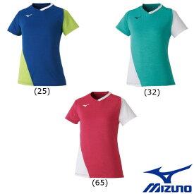 《送料無料》MIZUNO ウィメンズ ゲームシャツ 72MA0201 ミズノ テニス バドミントン ウェア