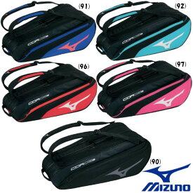 《500円OFFクーポン対象》《送料無料》2020年7月発売 MIZUNO ラケットバッグ(6本入れ) 63JD0501 バッグ ミズノ
