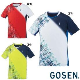 《送料無料》2019年12月下旬発売 GOSEN ユニセックス ゲームシャツ T2002 ゴーセン テニス バドミントン ウェア