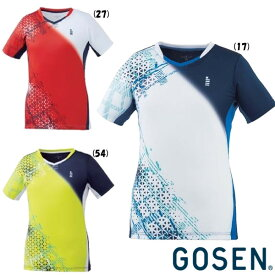 2019年12月下旬発売 GOSEN レディース ゲームシャツ T2003 ゴーセン テニス バドミントン ウェア
