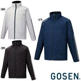 《送料無料》2020年9月発売 GOSEN ユニセックス ウィンドウォーマージャケット(裏起毛) Y2040 ゴーセン テニス バドミントン ウェア