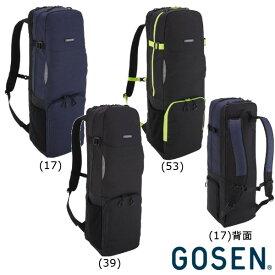 《送料無料》2019年4月発売 GOSEN バドミントンラケットバッグ BA19TBR(バドミントンラケット3本収納可)TOWNUSE SERIES ゴーセン バッグ