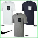 《簡易配送可》NIKE ナイキ ブロック ポケット Tシャツ 779707