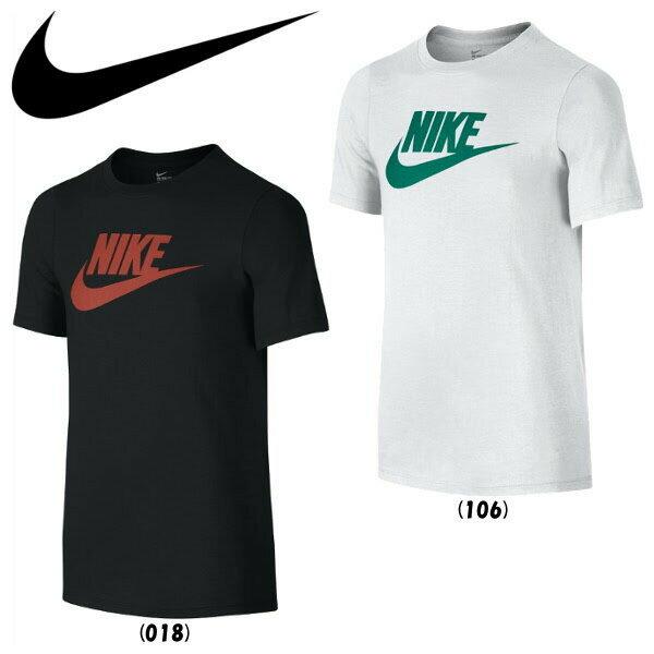 《簡易配送可》NIKE ナイキ YTH フューチュラ アイコン コットンクルー Tシャツ 739938 ジュニア ウエア