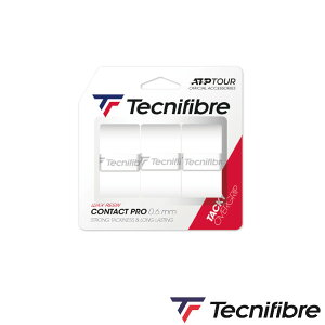 Tecnifibre OVERGRIP TACKY CONTACT PRO 3P TFA040 テクニファイバー グリップテープ