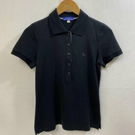 BURBERRY BLUE LABEL バーバリー・ブルーレーベル 半袖 ポロシャツ Polo Shirt 刺繡ワンポイント FA527-270【USED】【古着】【中古】10036957