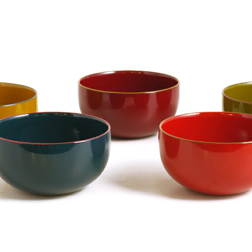 IRO-IROボウル 漆塗りの小鉢 スープボウルやデザートボウルとして。 isukeブランド 和食器 漆器