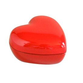 ハートBOX 洗朱<京都 漆器の井助>漆塗りの小物入れ(アクセサリーボックス、ピアスケース) バレンタインのお返しやホワイトデーのプレゼント、結婚のお祝いに