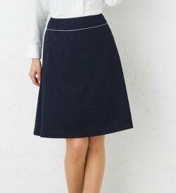 ストレスフリーな履き心地!PATRICK COX クラシカルAラインスカート 事務服 オフィス制服 ひざ丈 きれいめ