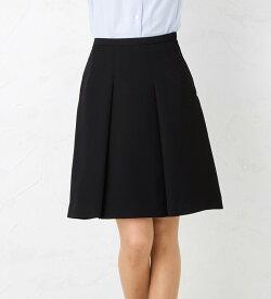しなやかなドレープで女性の優しさを演出!ふんわりセミフレアスカート ひざ丈