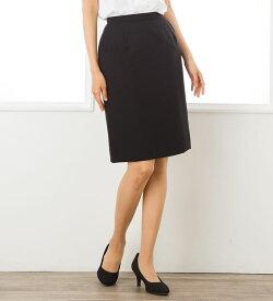 ●あす楽●プチプラタイトスカート(5cm丈長)【いしょくじゆう】【ヤギ】【UNILADY】 ひざ丈 きれいめ