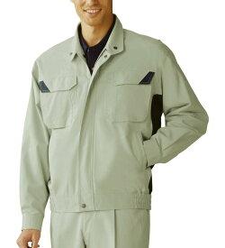 86400 難燃長袖ブルゾン 春夏用 自重堂 3L 4L 5L対応 大きいサイズ対応 作業服 作業着 ジャケットメンズ