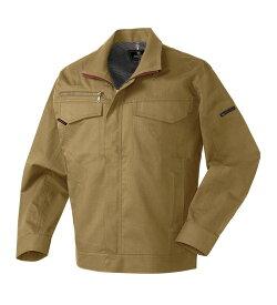 256661 ミラクルケア長袖ジャンパー 春夏用 作業服 作業着 ブルゾン ジャケット