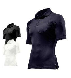 26452 コンプレッション半袖ポロシャツ 春夏用 作業服 作業着