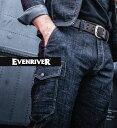 EVENRIVER イーブンリバーSR6002 カーゴパンツメンズ ストレッチ スリム 軽い カジュアル 作業服 作業着