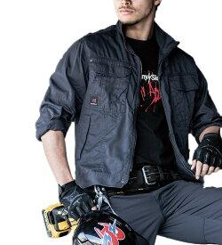 かっこいい作業服 かっこいい作業着・春夏用メンズ バートル BURTLE 8091 長袖ジャケット