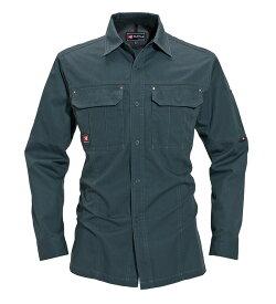 かっこいい作業服 かっこいい作業着・春夏用メンズ バートル BURTLE 8093 長袖シャツ