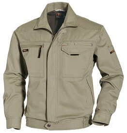 かっこいい作業服 かっこいい作業着・秋冬用メンズ バートル BURTLE 1311 長袖ブルゾン 3L 4L 5L対応 綿100%