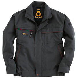 かっこいい作業服 かっこいい作業着・秋冬用メンズ バートル BURTLE 6011 長袖ブルゾン 3L 4L 5L対応