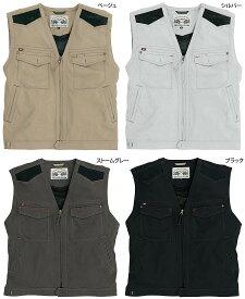 バートル BURTLE 1104 サマーベスト 3L 4L対応 かっこいい作業服 かっこいい作業着・春夏用メンズ