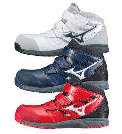 MIZUNO(ミズノ) C1GA1802 オールマイティLS プロテクティブスニーカーメンズ ミッドカット・マジックタイプ安全靴・セーフティシューズ