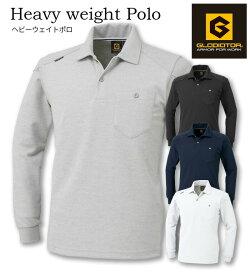 G9118 長袖ポロシャツ GLADIATOR(グラディエーター)作業服・作業着