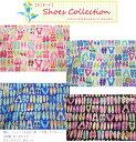 【つや消しラミネート】『Shoes Collection≪シューズコレクション≫』素材:コットン100%ブロードプリント≪表:つ…