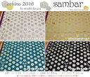 echino〜etsuko furuya〜2016『sambar≪サンバー≫』ハーフリネンキャンバスラメプリント素材:リネン55% コットン4…
