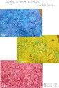 USA Fabric modaBaja Breeze Batik≪バーハー・ブリーズ・バティクス≫『Whirlpool≪ワールプール≫』コットン100%バティッ...
