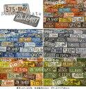 『Number plate≪ナンバープレート≫』コットン100%オックスプリント●素材:コットン100% ●生地幅:約110cm