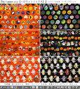 2017年新作♪『Halloween mix《ハロウィンミックス》』コットン100%シーチングプリント素材コットン100% 生地幅:…