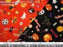 2017年新作♪『Halloween parade《ハロウィンパレード》』コットン100%CBプリント素材コットン100% 生地幅:約110c…