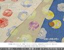 【50cm単位】LECIEN(ルシアン) *milka Collection*『kukka≪花≫』コットン100%Wガーゼラメプリント素材:コットン…