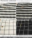 Monotone collection≪モノトーンコレクション≫『ジッパー&ウィンドペンチェック』コットン100%オックスプリント●素材:コットン100% ●生地幅:約110cmモノトーン/北欧/キッ
