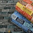 『Number plate≪ナンバープレート≫』コットン100%ジャガードニット素材:コットン100% 生地幅:約80cmアメリカン…