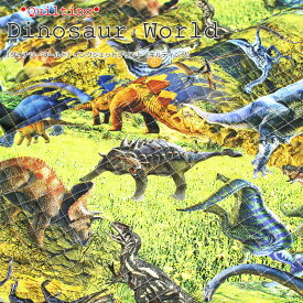 【キルティング】『Dinosaur World≪ダイナソーワールド≫』インクジェットプリント素材:コットン100%(中綿:ポリエステル)生地幅:約105cm恐竜/男の子/キッズ/オックス/入園/入学/ハンドメイド/手づくり/