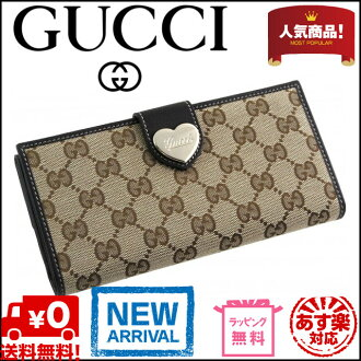 Gucci by GUCCI W hook 203550 FFPAG 9643 GG canvas / leather (Beige x Brown)