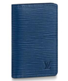 【ルイヴィトンオーガナイザー・ドゥポッシュエピ/ブルーオックスフォード】LOUISVUITTONM62974カードケース【LuxuryBrandSelection】