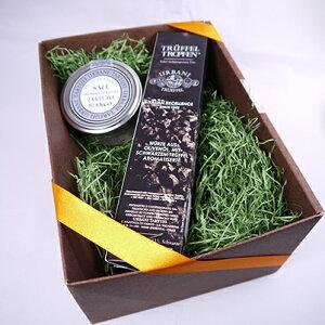 ウルバーニ社 黒トリュフオイル 白トリュフ塩 セット 高級 ギフト ボックス付き イタリア産 プレゼント 食品