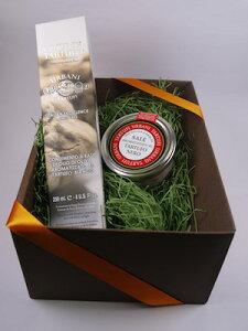 ウルバーニ社 白トリュフオイル 250ml 黒トリュフ塩 100g セット 高級 ギフト ボックス付き イタリア産 プレゼント 食品