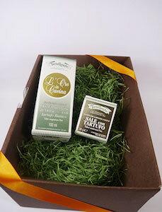 タルトゥフランゲ社 白トリュフオイル 黒トリュフ塩 セット 高級 ギフト ボックス付 イタリア産 プレゼント