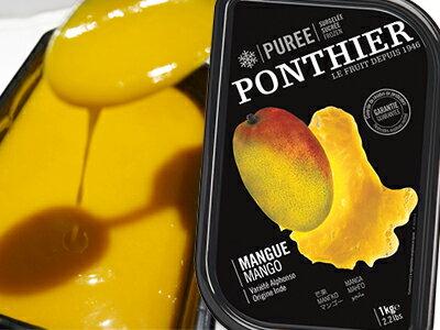 【冷凍以外同梱不可】 ポンティエ社 マンゴーピューレ フランス産 1kg