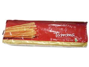 タンマ パスタ no.4 スパゲッティ 1.7mm 500g