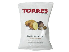 【他商品同梱不可】トーレス社 黒トリュフポテトチップス 40g×20袋入り