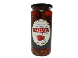 パレルモ チェリーペッパー 唐辛子 酢漬け 470g イタリア産